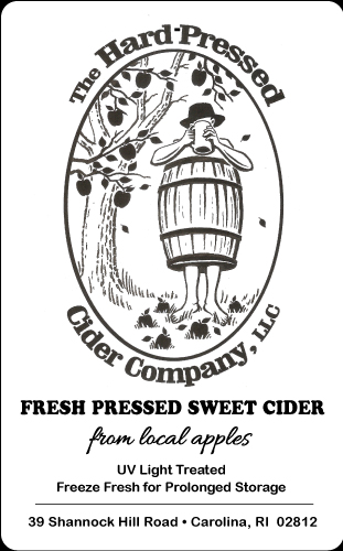 Hard Pressed Cider Label - Beverage Label