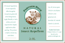 Panther Rock Natural Inspect Repellent