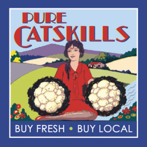 Pure Catskills Label