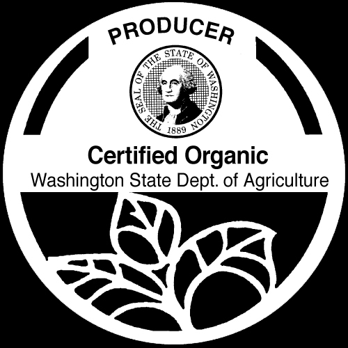 WSDA Certified Organic Label