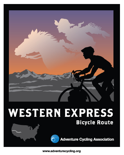 Western Express Label