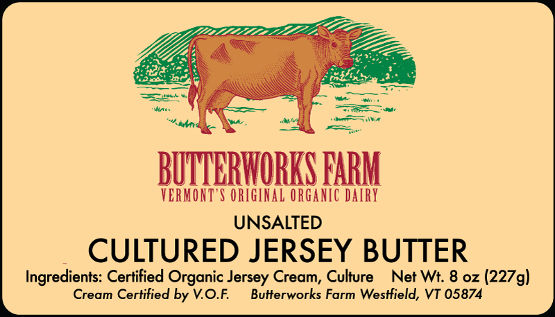 Butterworks Butter Label