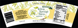 Yellow Springs Farm Yogurt
