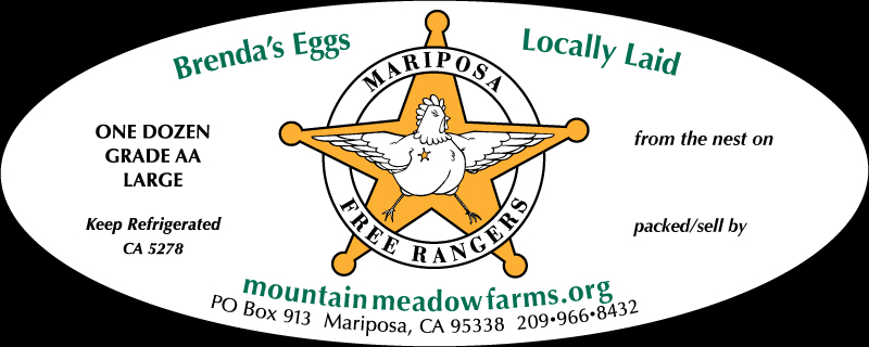 Mountain Meadow Farms Egg Label