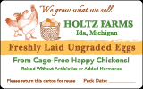 Holtz Farms Eggs