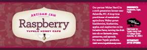 Tupelo Honey Cafe Raspberry Jam
