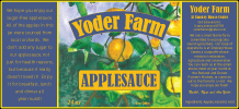Yoder Farm Applesauce