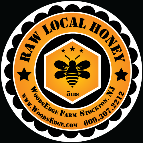 Woodsedge Farm Honey Label