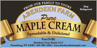 Aberdeen Maple Cream
