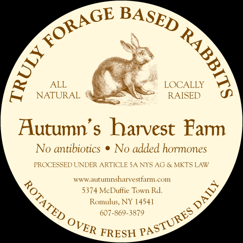 Rabbit Meat Label