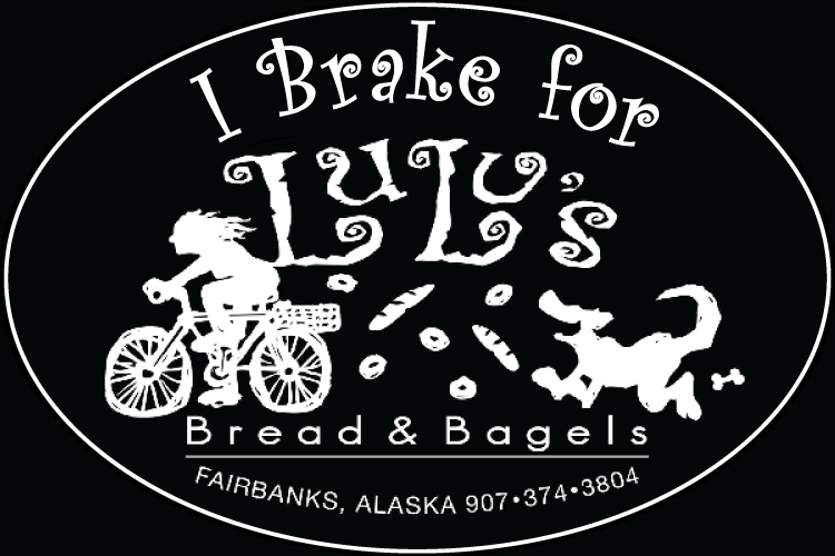 Lulu's Bread and Bagels Label