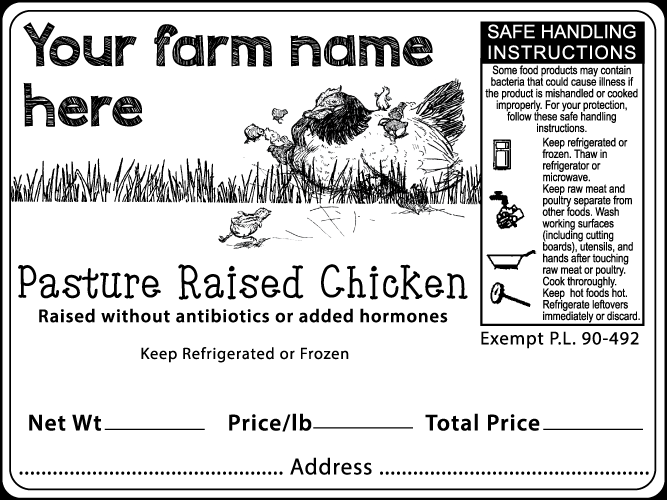 Poultry Label