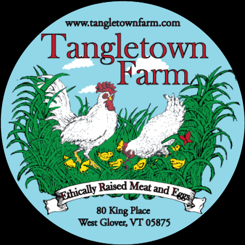 Tangletown Farm Chicken Label