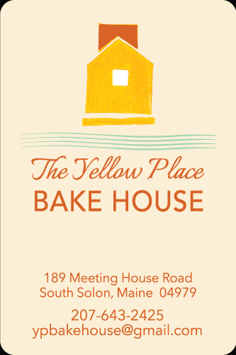 The Yellow Place Bake House - Value Added Label