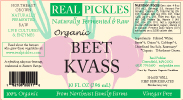 Real Pickles Beet Kvass